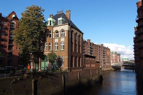 Ciudad Almacen en Hamburgo