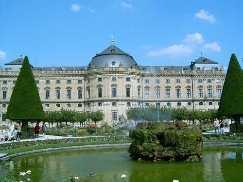 Jardines en la Residencia Wurzburgo