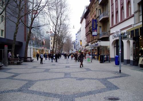 Calle Peatonal en Wiesbaden