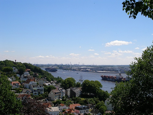 Rio Elba en Hamburgo