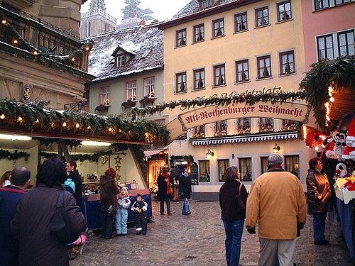 Navidad en Rothenburg ob der Tauber