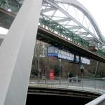 Ruta industrial de Wuppertal en su monorriel