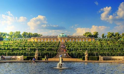 Palacio Sanssouci