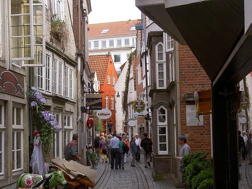 Schnoor en Bremen
