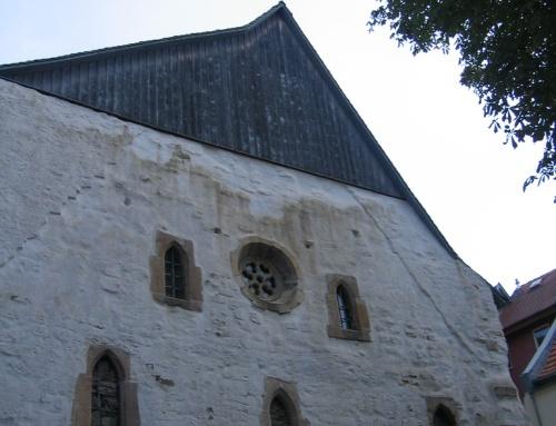 Ventanas de la Sinagoga de Erfurt