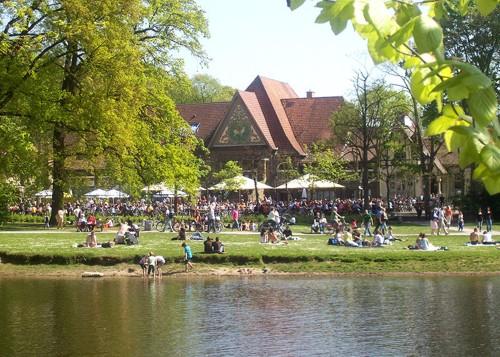 Stadtwaldhaus en Krefeld