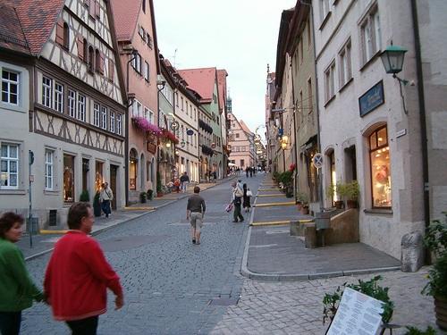 Calles de Rothenburg