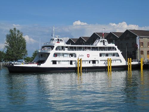 Ferry en Friedrichshafen