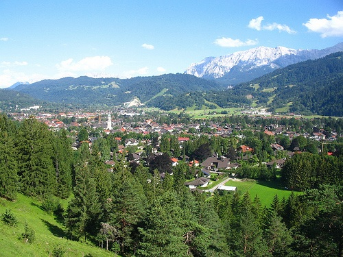 Vista de Garmisch Partenkirchen