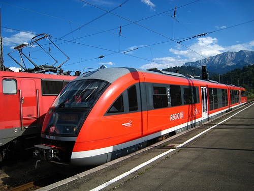 Trenes en Garmisch Partenkirchen