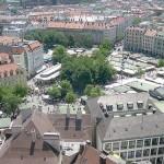Viktualienmarkt, mercado gourmet en Múnich