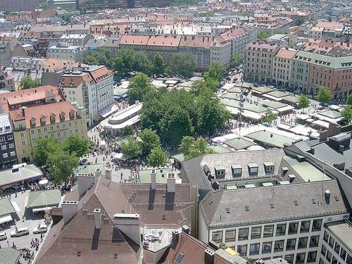 Viktualienmarkt en Munich