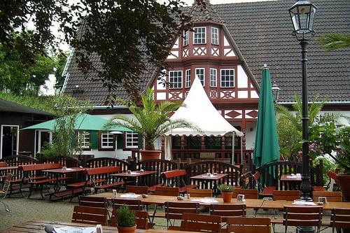 Weindorf en Coblenza
