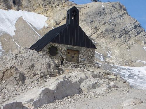 Iglesia en Zugspitze